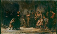 Image of 'Applicants to a Casual Ward' by Luke Fildes