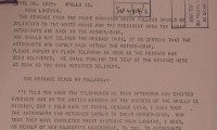 Image of Message from PM Harold Wilson to President Richard Nixon, 21 July 1969