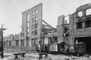Air Raid damage to Liverpool Alexandra Dock, 26 September 1940, cat. ref. RAIL 421/71/110