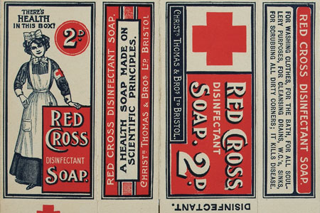 Red Cross disinfectant soap 1909, cat. ref. COPY1-284 (272)