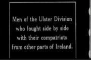 'With the North and South Irish At The Front'