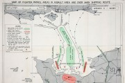 Catalogue reference: MPL 1 450 (1) - D-Day fighter patrol area map