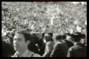British news report on protests at Berkeley 1967
