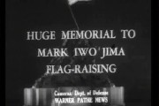 Newsreel footage of the Marine Corps Memorial Statue