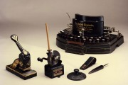 Turn of the century stationery including English typewriter (catalogue reference: STAT 20/446/1890)