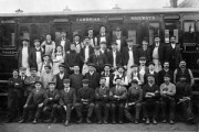 RAIL 92/136 Oswestry works staff 1909