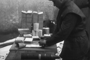 Loading Shells With Propaganda 1944