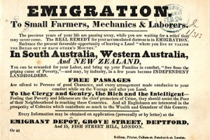 Emigration to Australia notice, 1841 (catalogue reference CO 384/66)