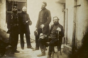 Crimean War: Major Stokes and group of Anglo-Turkish soldiers (catalogue reference WO 78/1078)