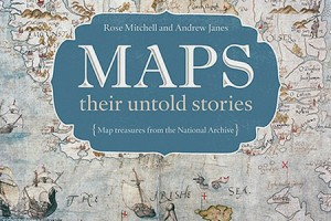 Maps Their Untold Stories (Rose Mitchell & Andrew Janes, Bloomsbury 2014)