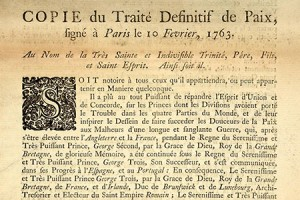 Treaty of Paris 1793 (catalogue reference SP 113/144)