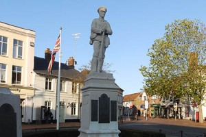 Chesham War Memorial, Buckinghamshire