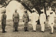 Sikh sepoys, non-commissioned and Indian Officers in uniform and mufti (catalogue reference CN 4/8)