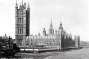 Houses of Parliament from Lambeth bridge.1899. Catalogue reference: COPY1-442(ii)