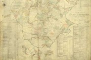 A map of East Bergholt, Suffolk, from 1817. Catalogue reference MR1-247